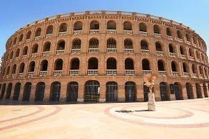 Bullring arena (Plaza de Toros) in V