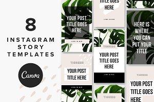 Instagram Story Templates: Tigress