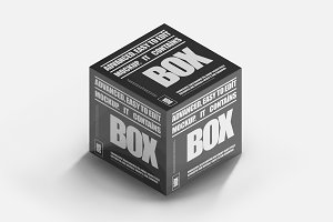 Software Box Mock-up 6