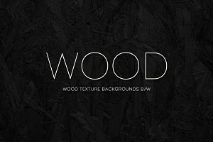 Wood Texture backgrounds B/W