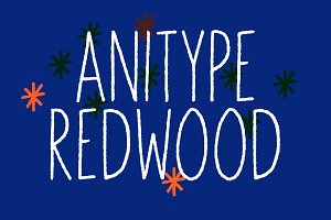 Anitype Redwood - Animated Font