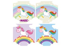 Cute Magic Unicorn Collection - 2