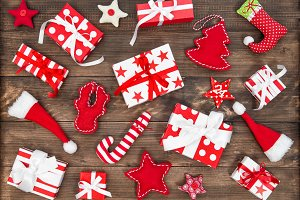 Gift boxes Christmas decoration