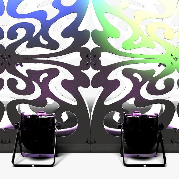 Stage Decor 09 Modular Wall Column in Photoshop Shapes - product preview 10