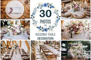 30 PHOTOS of WEDDING decoration