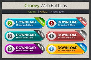 Groovy Web Buttons