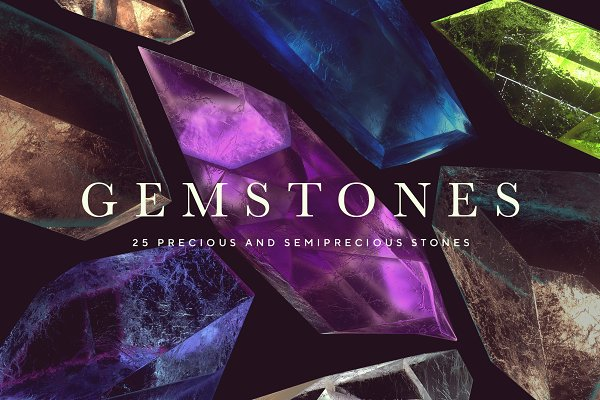 Objects: RuleByArt - Gemstones & Crystals