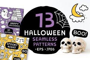 13 Halloween patterns ♥