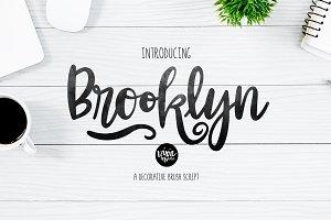BROOKLYN Bold Script Font