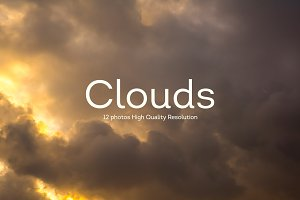 12 Clouds Photography V2