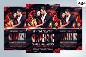 GLAM & CHIC Flyer Template