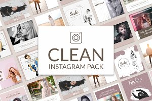 Clean Instagram Banner Pack