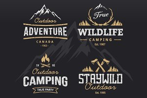 Outdoor Vector Emblems