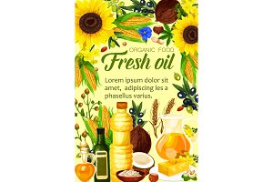 Ingredients of natural oil produce