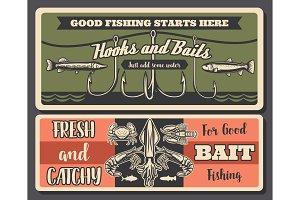 Fishery retro, fishing tools