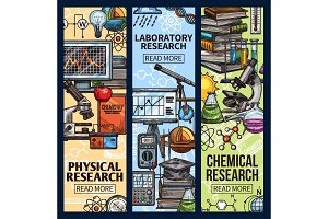 Science, chemical and laboratory