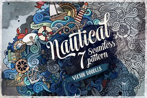 ✮ Nautical Endless Patterns