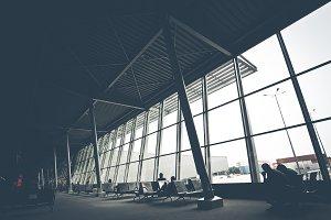 Airport bay