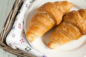croissants in the Romantic style in