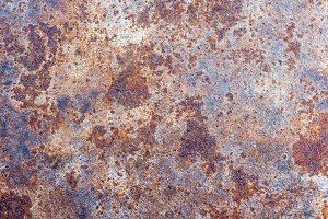 background of rusty iron
