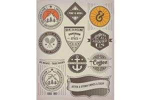 Vintage Insignias / logotype