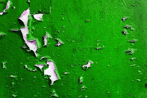 Colored concrete background with pee