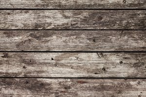Background of old wooden gray, brown