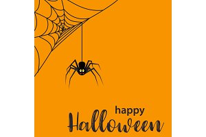 Funny Halloween greeting card
