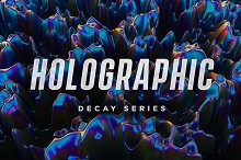 Holographic - Decay Series by  in Textures