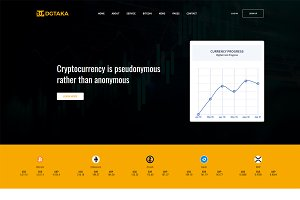 DG Taka - CryptoCurrency WP Theme