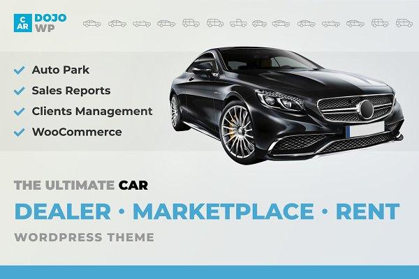 CarDojo - Automotive WordPress Theme
