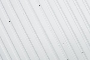 Metal white sheet for industrial