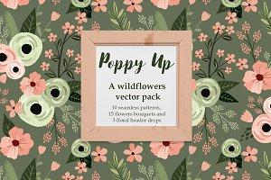 Poppy Up vector pack