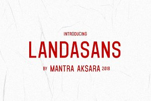 LANDASANS -- Introduction DISC. 30%