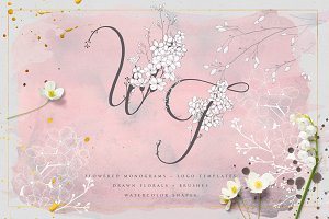 Wonder Flowers ~ Monograms & Logos