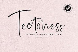 Tectoness Elegant Script