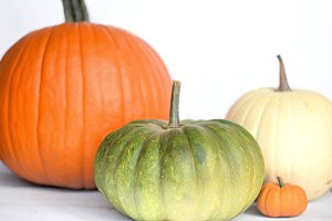Fall Pumpkin Stock Photo