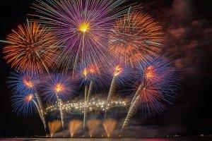 Fantastic Multicolor Firework