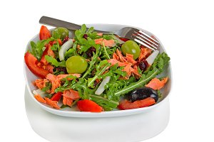 Healthy fresh salad for snack
