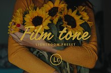 Film tone Lightroom preset by  in Actions