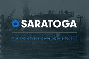 Saratoga WordPress Framework 50% off