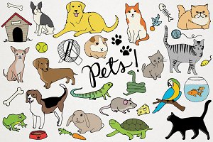 Animals & Pets Illustrations