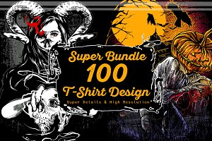 Super Bundle 100 TS Design