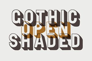 Gothic Open Shaded