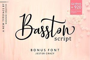 Basston Script (50% OFF)