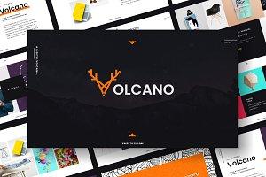 Volcano - Powerpoint Template