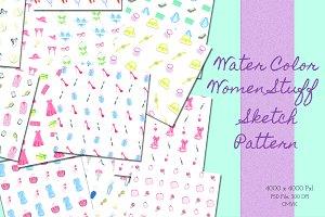 Women Stuff, Sketch Pattern
