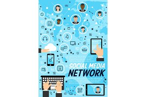 Network social media technology
