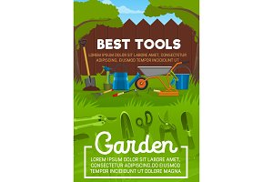Garden tool, backyard maintenance