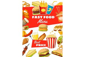 Fast food, street meals and drinks